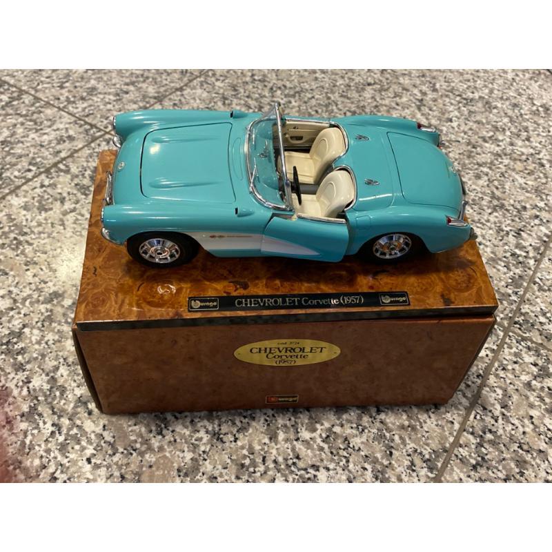 MODELLINO AUTO CHEVROLET CORVETTE 1957 | Mercatino dell'Usato Osasco 1