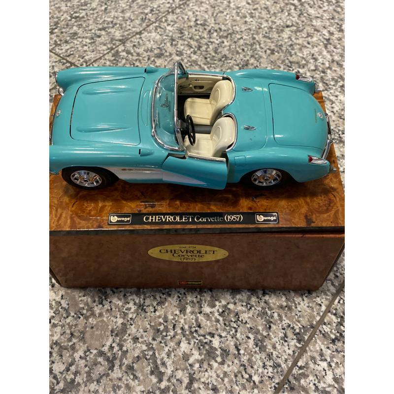 MODELLINO AUTO CHEVROLET CORVETTE 1957 | Mercatino dell'Usato Osasco 2