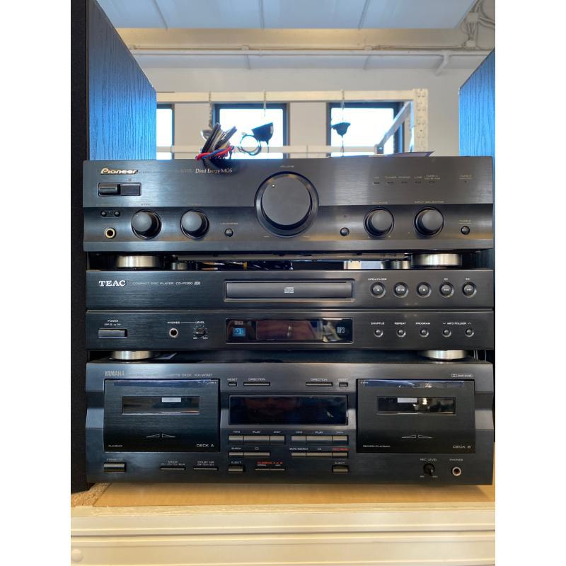 IMPIANTO AUDIO PIONEER/YAMAHA/TEAC +2 CASSE  | Mercatino dell'Usato Osasco 2