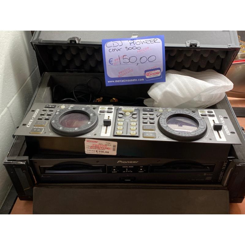 CDJ PIONEER CMX-3000 RACK CON VALIGETTE  | Mercatino dell'Usato Osasco 1