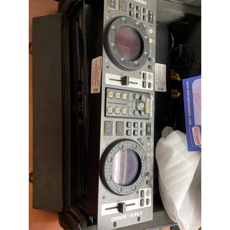 CDJ PIONEER CMX-3000 RACK CON VALIGETTE  | Mercatino dell'Usato Osasco 2