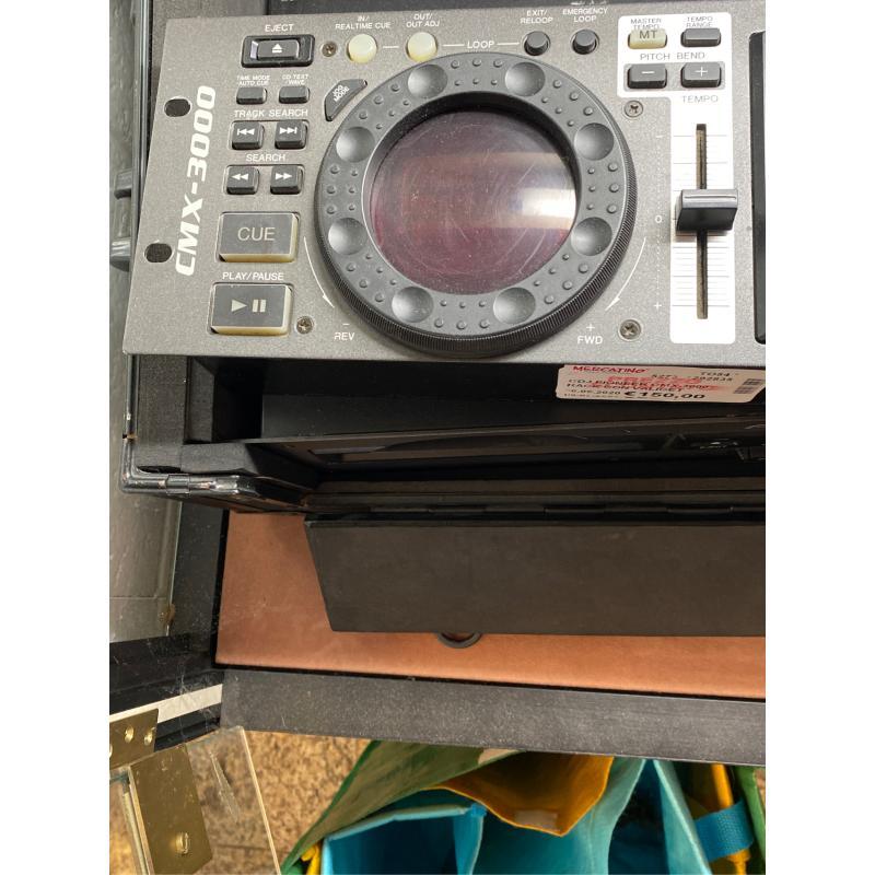 CDJ PIONEER CMX-3000 RACK CON VALIGETTE  | Mercatino dell'Usato Osasco 3