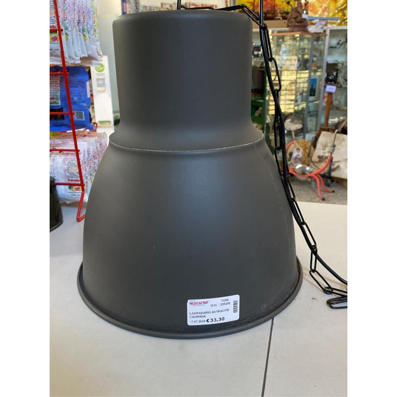 LAMPADARIO ANTRACITE CAMPANA | Mercatino dell'Usato Osasco 1