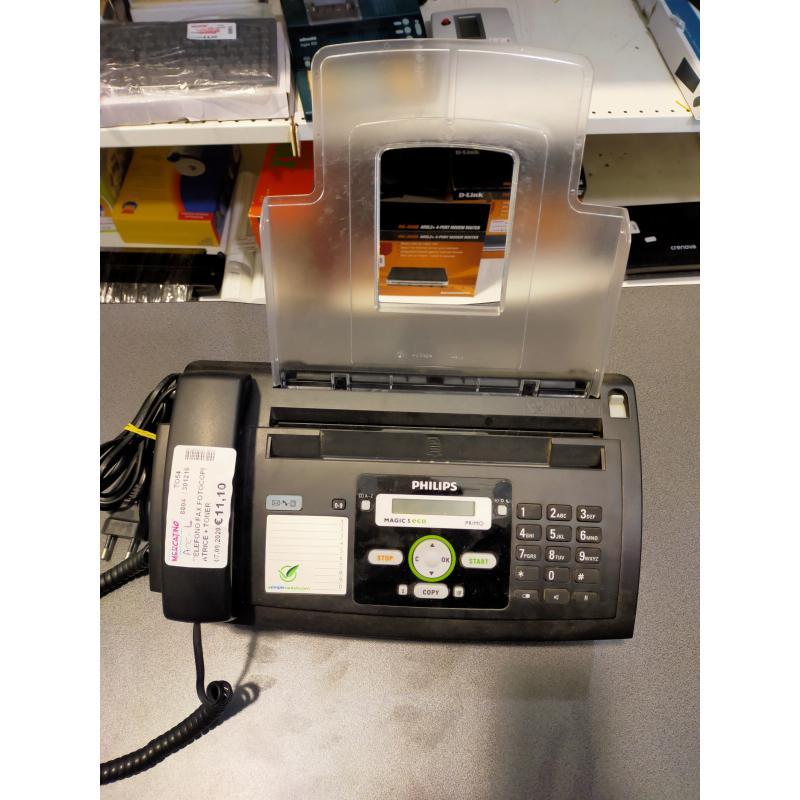 TELEFONO FAX FOTOCOPIATRICE + TONER | Mercatino dell'Usato Osasco 1