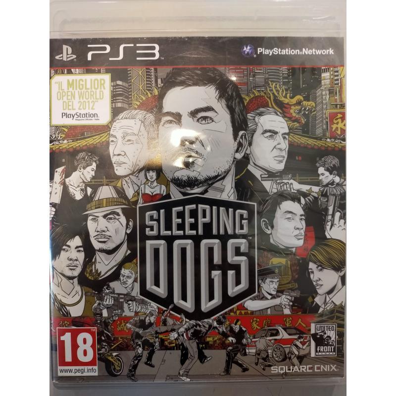 GIOCO PLAY STATION 3 SLEEPING DOGS  | Mercatino dell'Usato Osasco 1