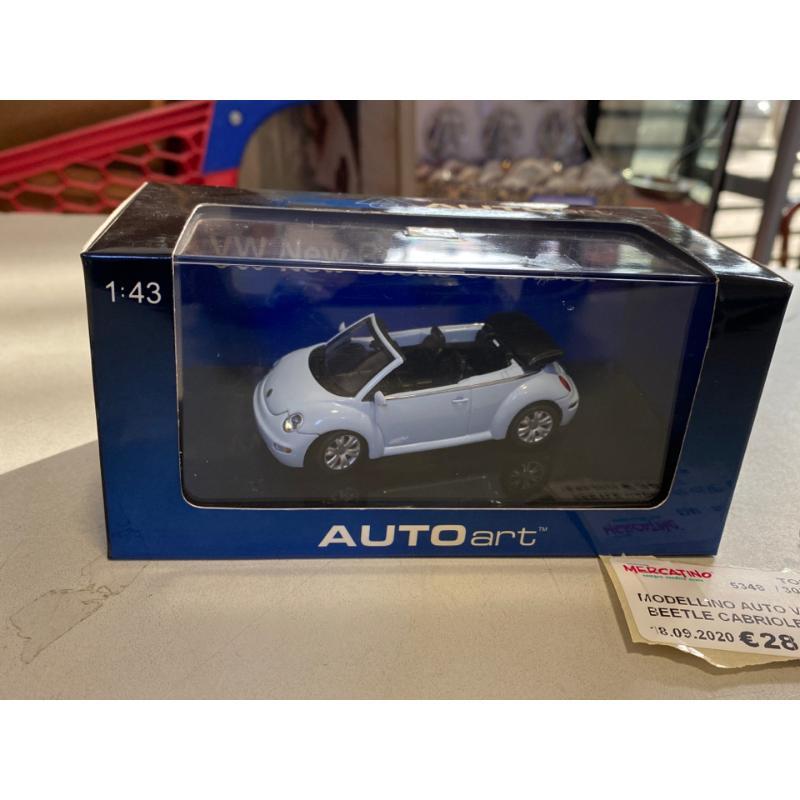 MODELLINO AUTO VW NEW BEETLE CABRIOLET AUTO ART   Mercatino dell'Usato Osasco 1