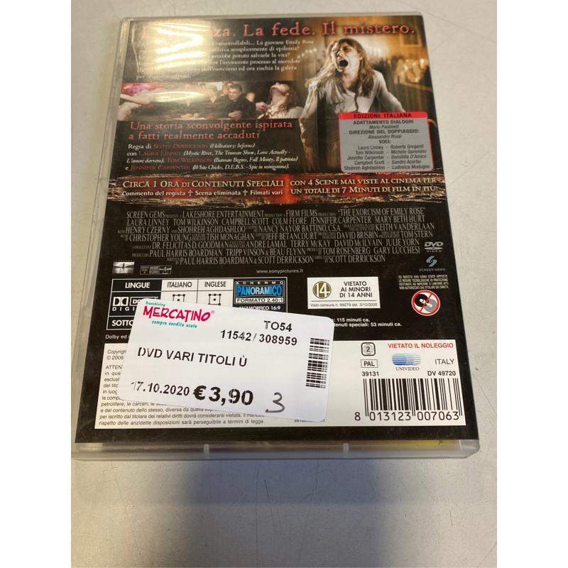 DVD VARI TITOLI Ù | Mercatino dell'Usato Osasco 2