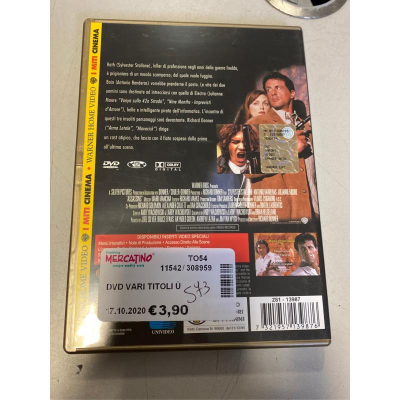 DVD VARI TITOLI Ù | Mercatino dell'Usato Osasco 4