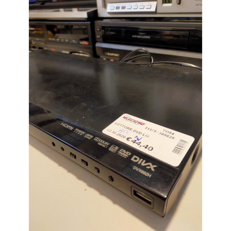 LETTORE DVD LG  | Mercatino dell'Usato Osasco 3
