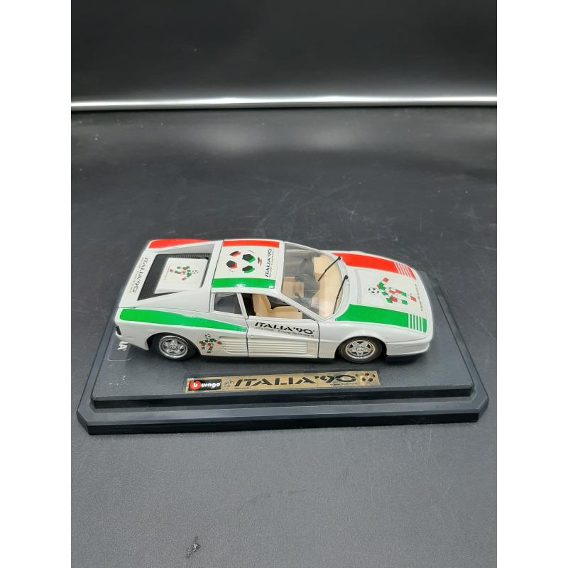 MODELLINO AUTO BURAGO ITALIA 90' | Mercatino dell'Usato Osasco 1
