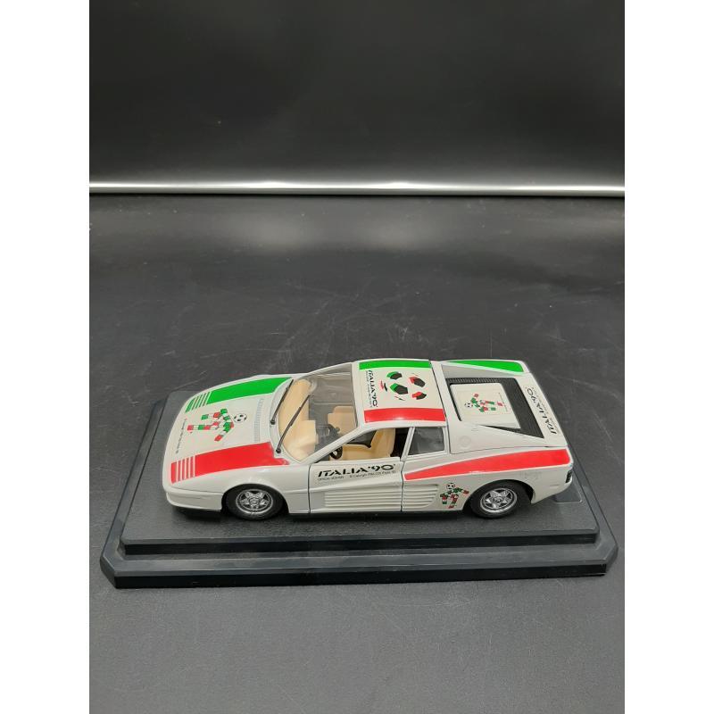MODELLINO AUTO BURAGO ITALIA 90' | Mercatino dell'Usato Osasco 3