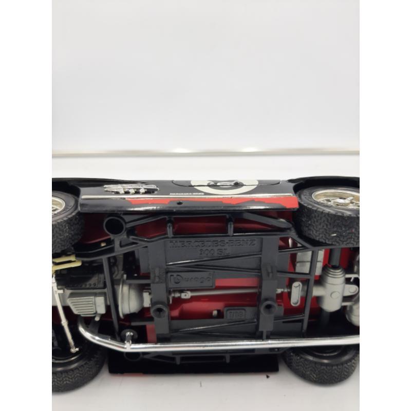 MODELLINO AUTO NERA MERCEDES BENZ 300 SL BURAGO | Mercatino dell'Usato Osasco 5