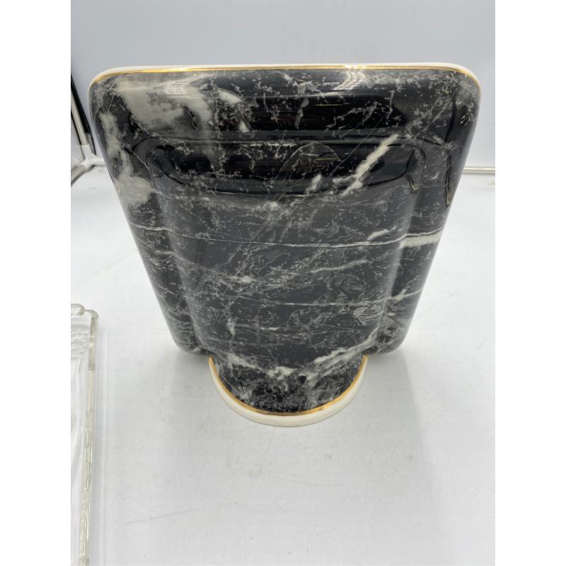 CORNICE PORTAFOTO EFFETTO MARMO NERO BIANCO GRIGIO   Mercatino dell'Usato Osasco 3