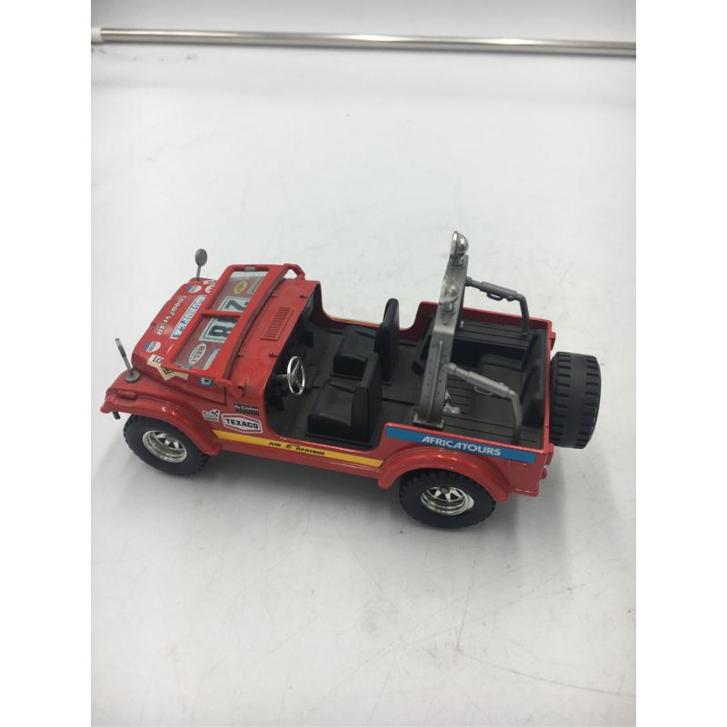 MODELLINO AUTO BURAGO JEEP CJ-7    Mercatino dell'Usato Osasco 2