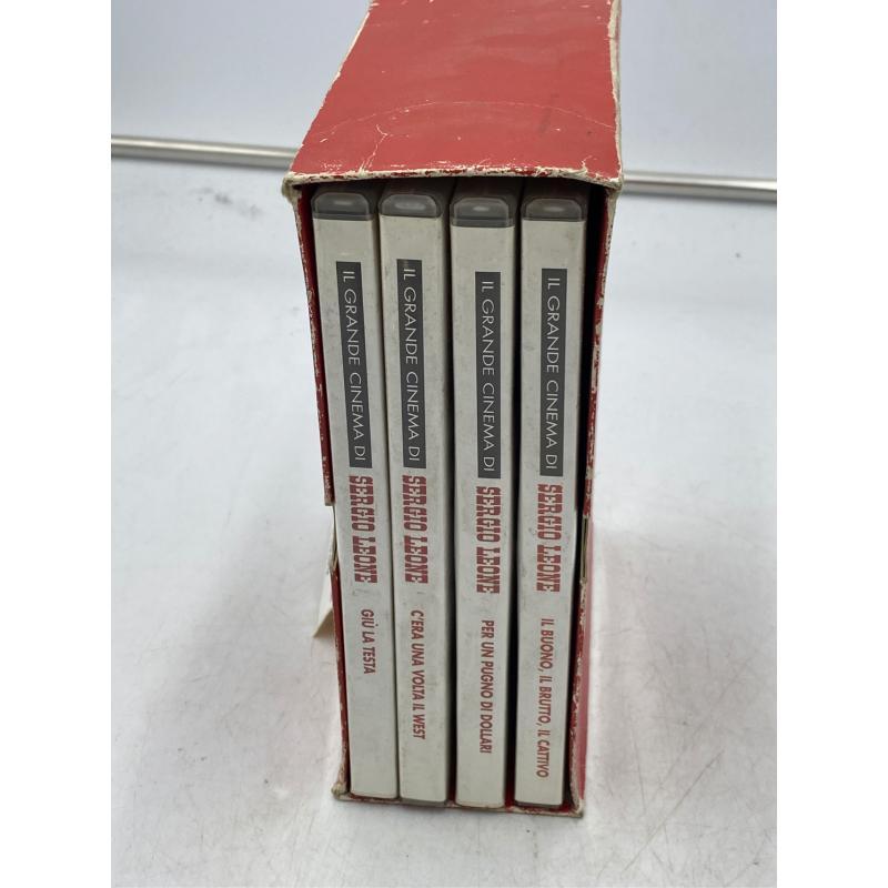 DVD COFANETTO SERGIO LEONE 4PZ | Mercatino dell'Usato Osasco 2