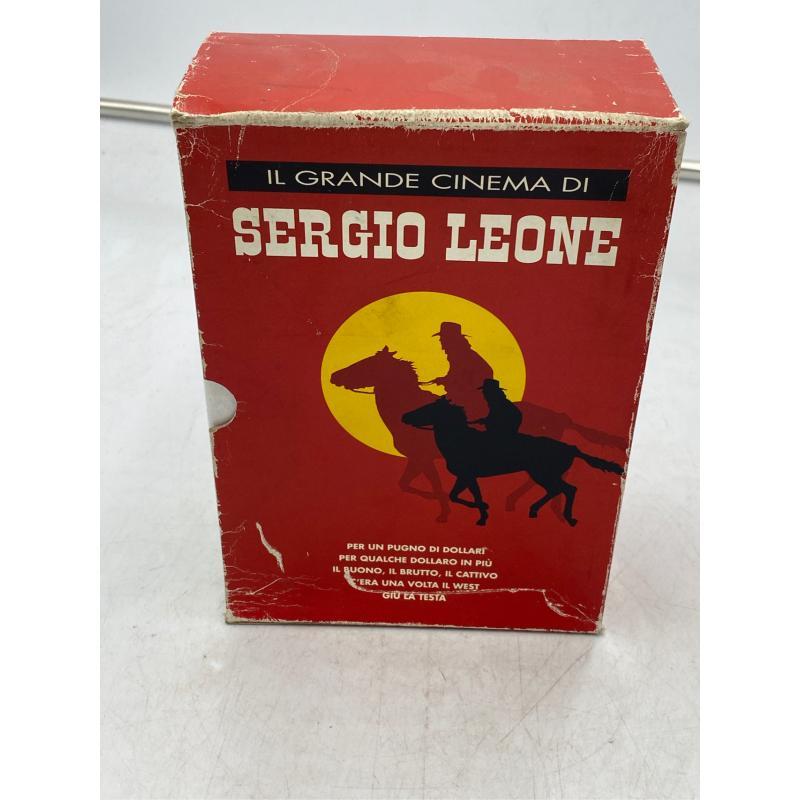 DVD COFANETTO SERGIO LEONE 4PZ | Mercatino dell'Usato Osasco 3