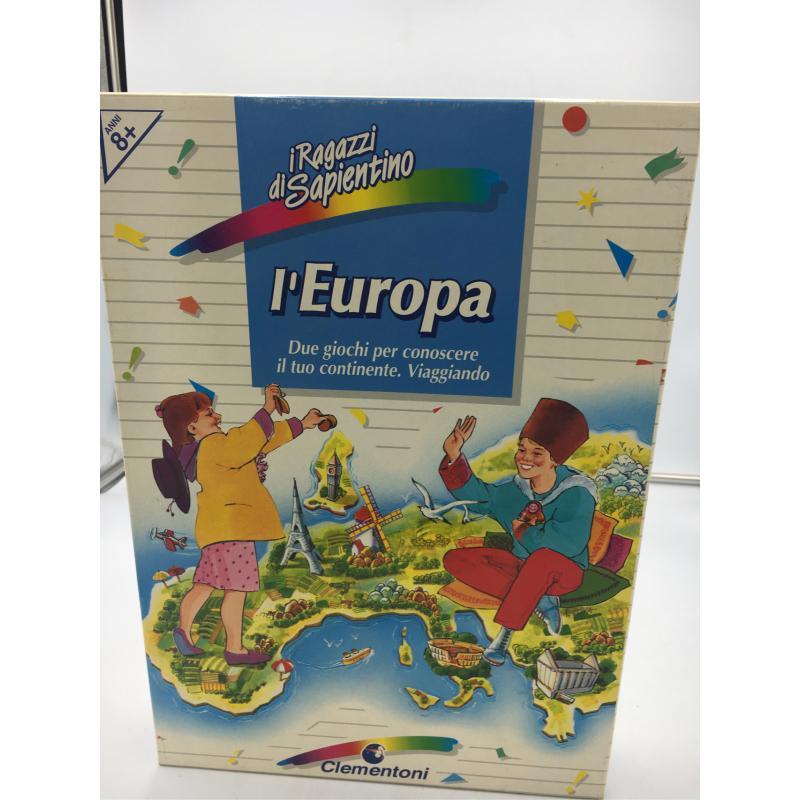 GIOCO L'EUROPA CLEMENTONI VINTAGE | Mercatino dell'Usato Osasco 1