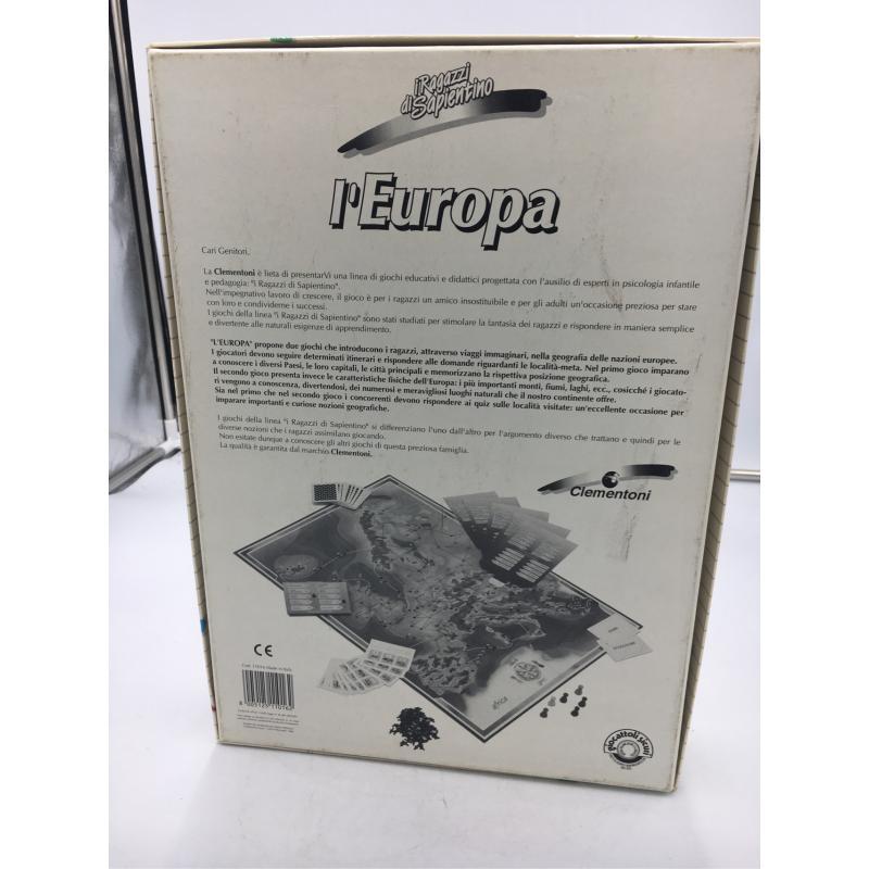 GIOCO L'EUROPA CLEMENTONI VINTAGE | Mercatino dell'Usato Osasco 2