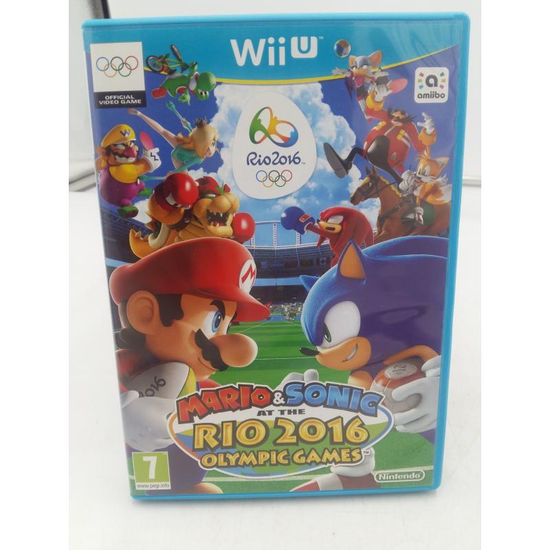 GIOCO WII U MARIO&SONIC RIO 2016 OLYMPIC GAMES   Mercatino dell'Usato Osasco 1