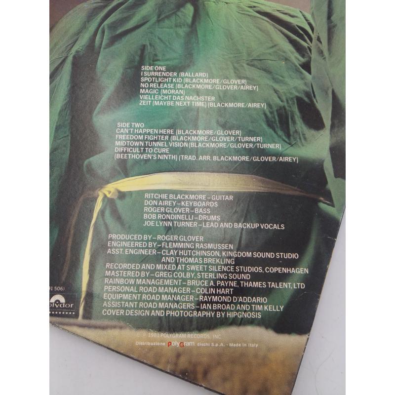 LP RAINBOW DIFFICULT TO CURE   Mercatino dell'Usato Osasco 3