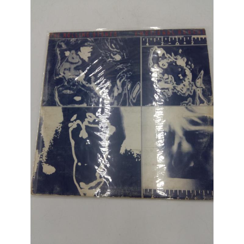 LP ROLLING STONES EMOTIONAL RESCUE NO POSTER | Mercatino dell'Usato Osasco 1