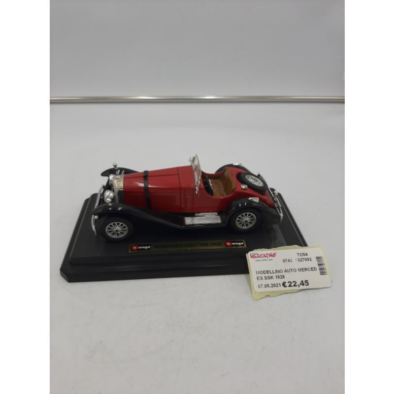 MODELLINO AUTO MERCEDES SSK 1928   Mercatino dell'Usato Osasco 1