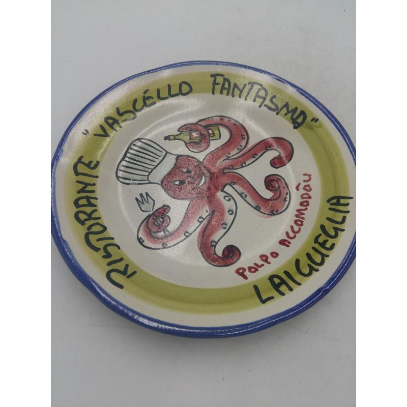 PIATTO BUON RICORDO VASCELLO FANTASMA | Mercatino dell'Usato Osasco 3
