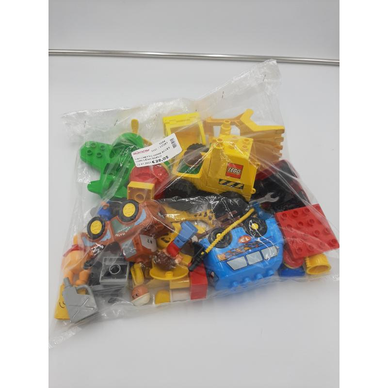 SACCHETTO OMINI ACCESSORI LEGO DUPLO   Mercatino dell'Usato Osasco 2