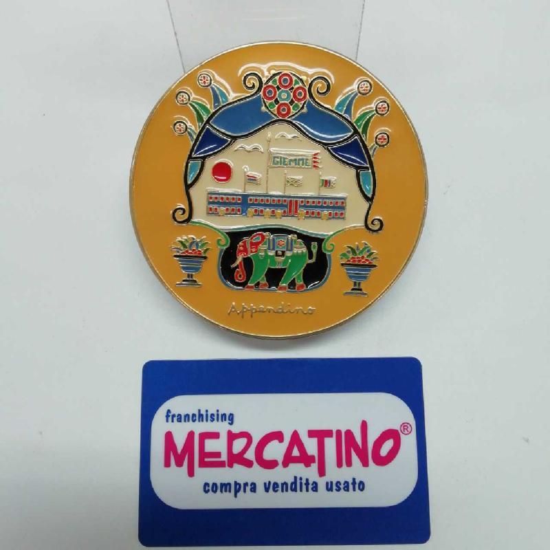 FERMA CARTE METALLO G GIEMME APPENDINO    Mercatino dell'Usato Torino san paolo 1