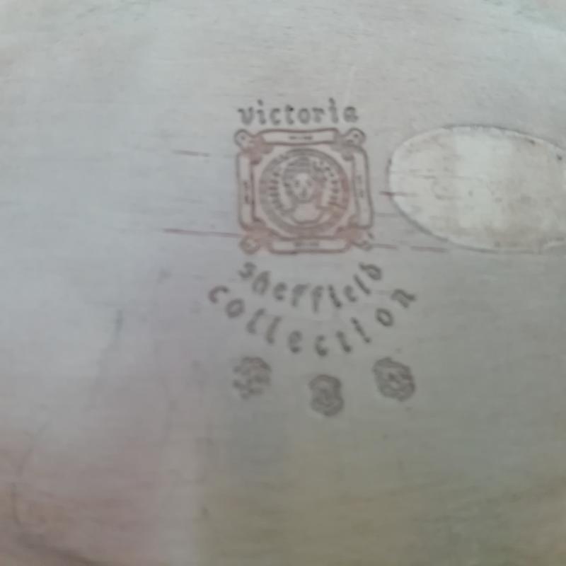 PIATTINO SHEFFIELD VICTORIA    Mercatino dell'Usato Torino san paolo 4