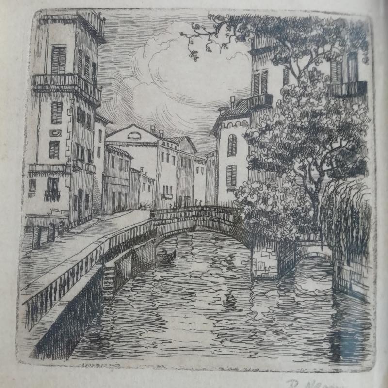 QUADRETTO VECCHIO STAMPA CANALE | Mercatino dell'Usato Torino san paolo 3
