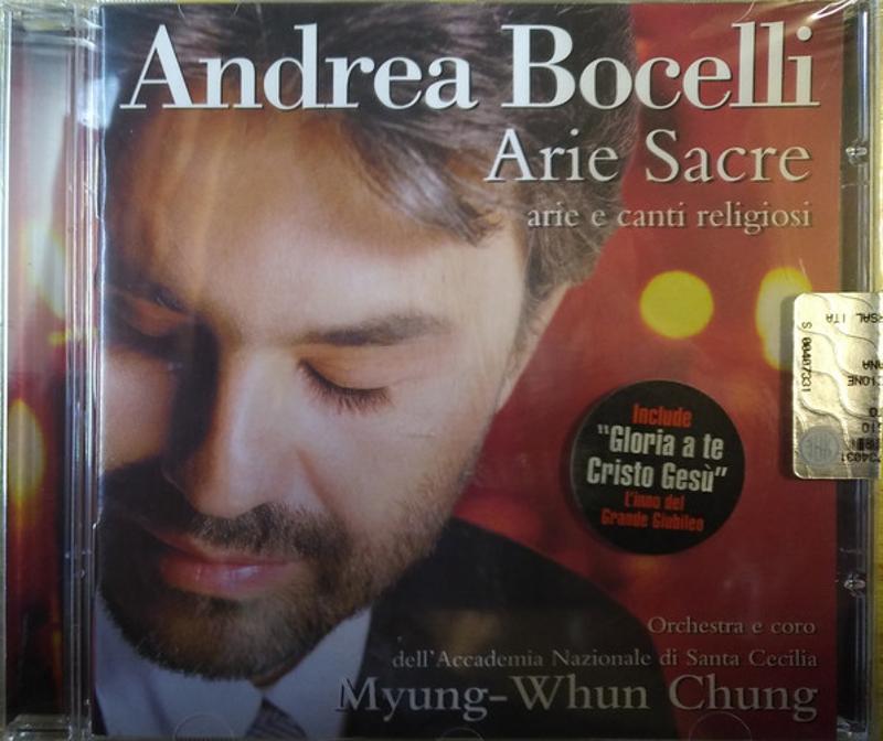 ANDREA BOCELLI - ARIE SACRE   Mercatino dell'Usato Torino tommaso grossi 1
