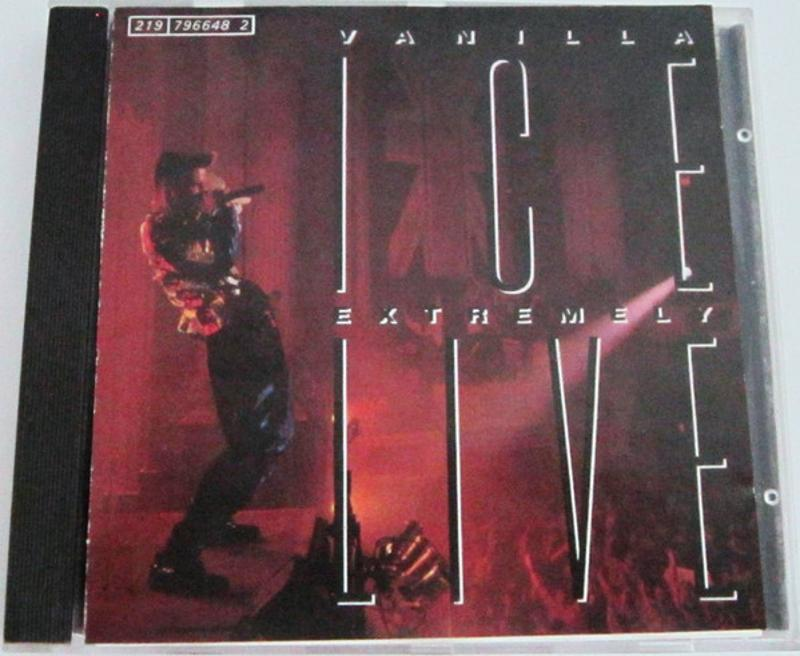 VANILLA ICE - EXTREMELY LIVE | Mercatino dell'Usato Torino tommaso grossi 1