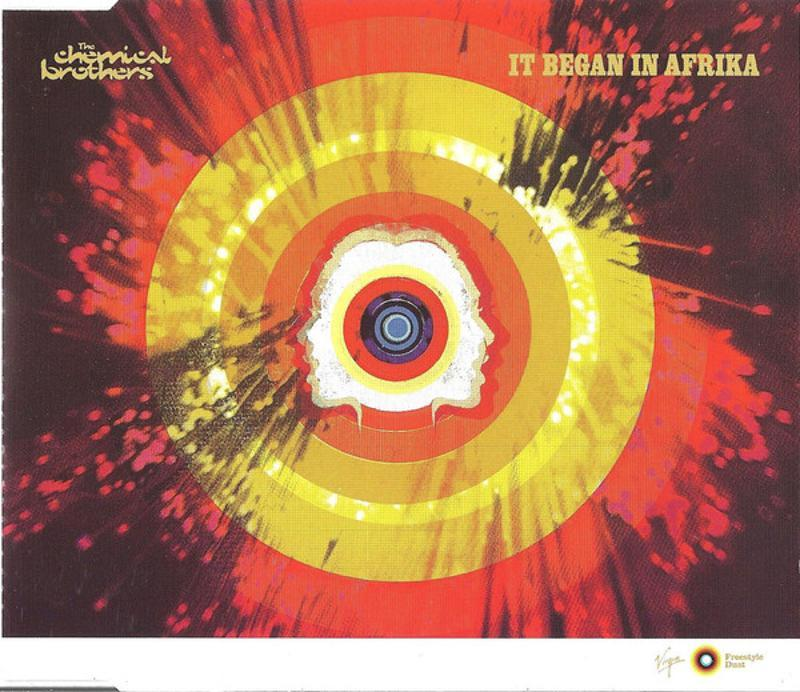 THE CHEMICAL BROTHERS - IT BEGAN IN AFRIKA | Mercatino dell'Usato Torino tommaso grossi 1