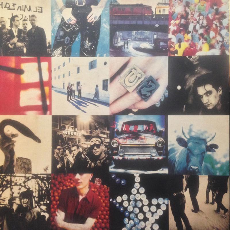 U2 - ACHTUNG BABY | Mercatino dell'Usato Torino tommaso grossi 1