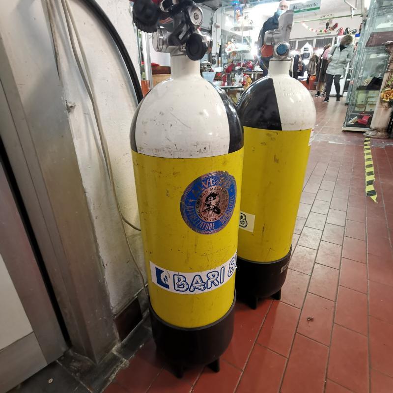 BOMBOLA SUB CRESSI 10 L | Mercatino dell'Usato Torino tommaso grossi 5