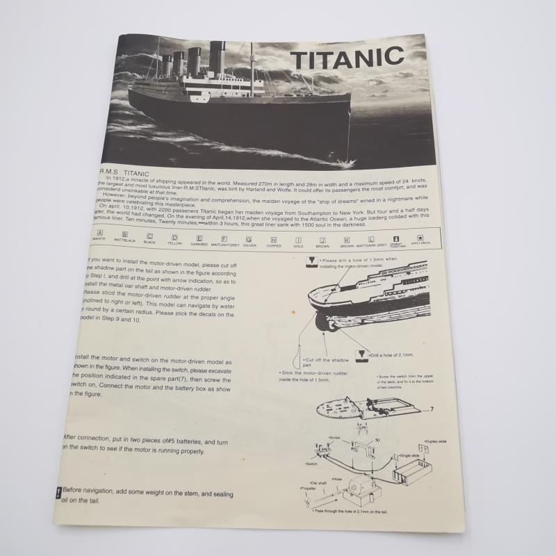 MODELLINO NAVE TITANIC RMS | Mercatino dell'Usato Torino tommaso grossi 2
