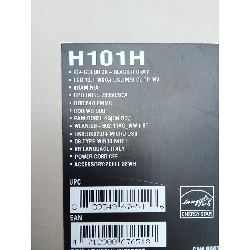 COMPUTER ASUS TRASFORMER BOOK H101H | Mercatino dell'Usato Torino tommaso grossi 3