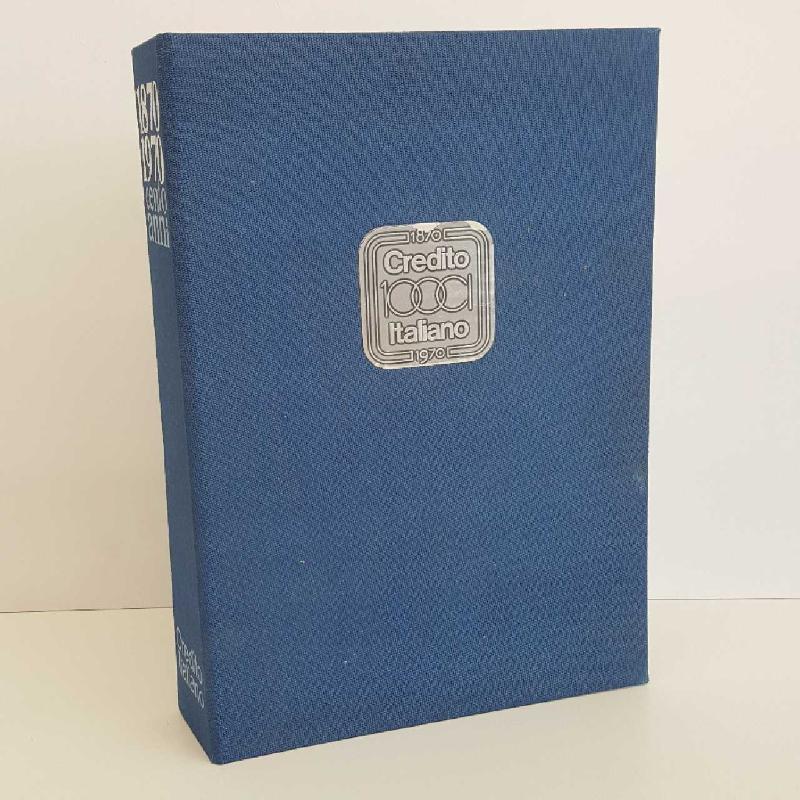 L. CREDITO ITALIANO 1870 1970 | Mercatino dell'Usato Torino mirafiori 1