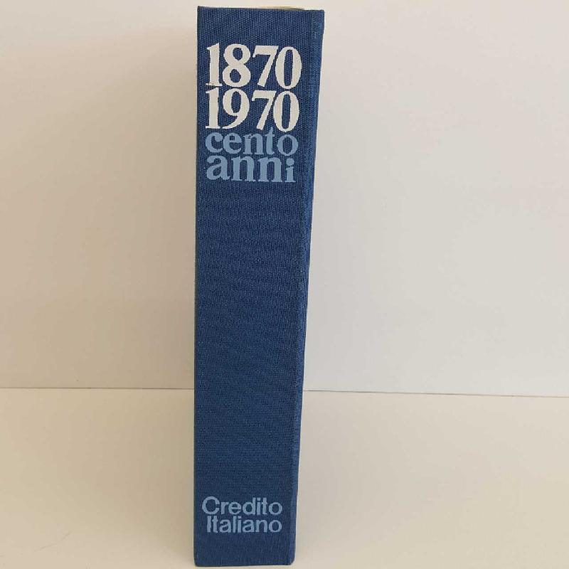 L. CREDITO ITALIANO 1870 1970 | Mercatino dell'Usato Torino mirafiori 4