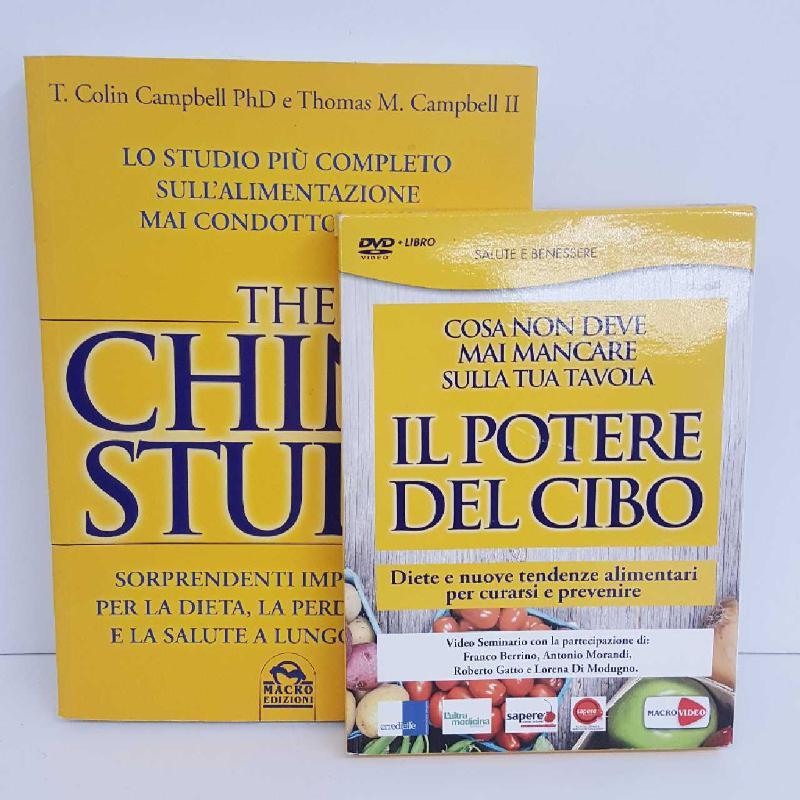 THE CHINA STUDY + LIBRO | Mercatino dell'Usato Torino mirafiori 1