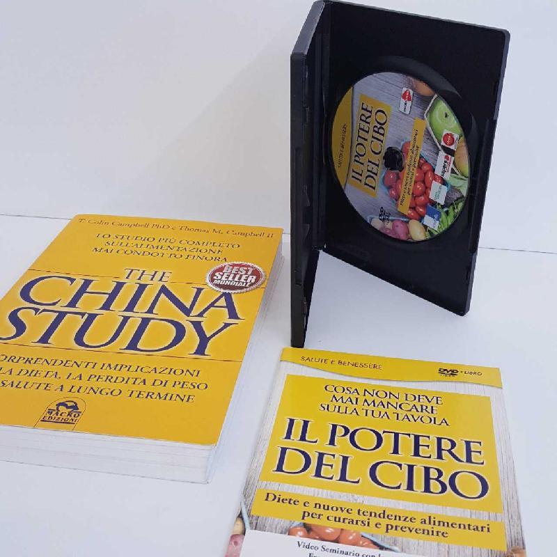 THE CHINA STUDY + LIBRO | Mercatino dell'Usato Torino mirafiori 2