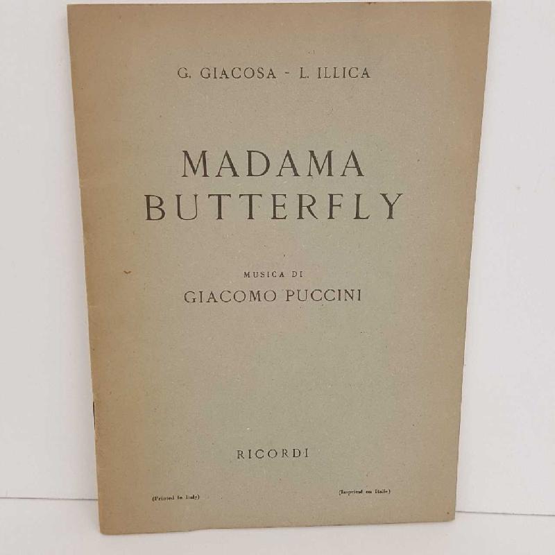MADAMA BUTTERFLY DI PUCCINI | Mercatino dell'Usato Torino mirafiori 1