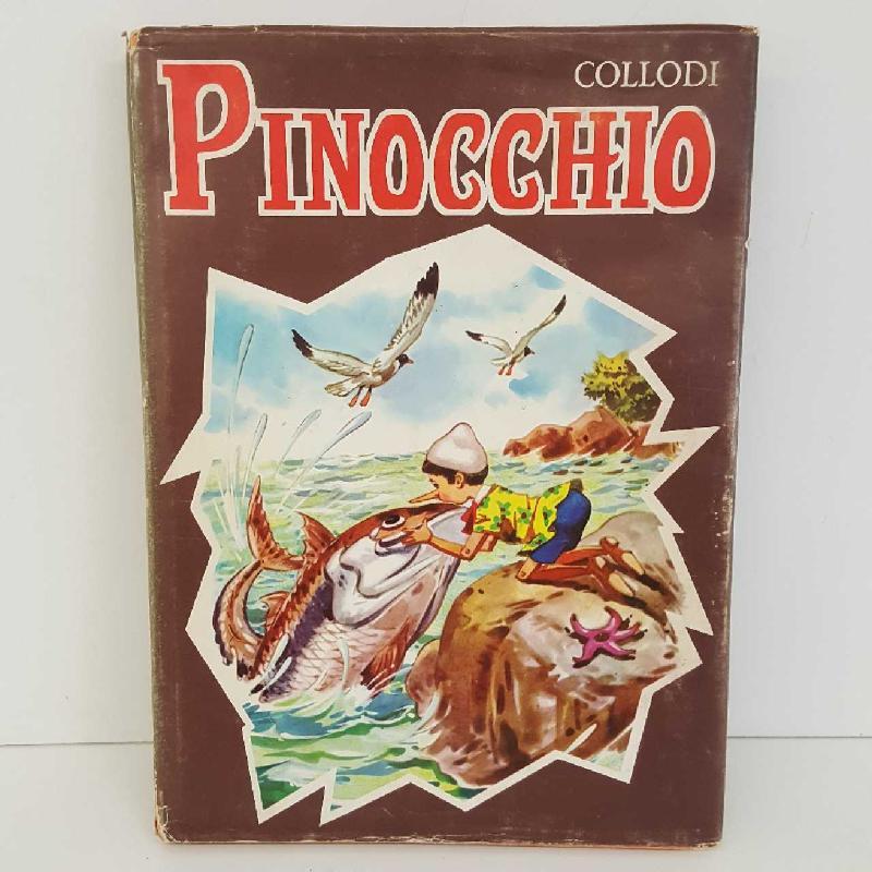 PINOCCHIO COLLODI EDIZIONE 1969 | Mercatino dell'Usato Torino mirafiori 1