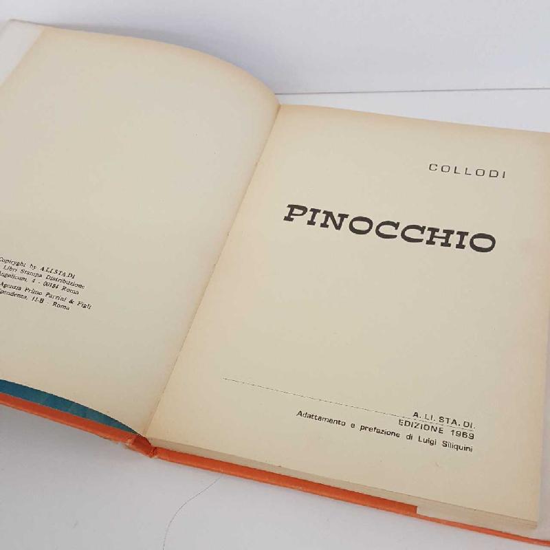 PINOCCHIO COLLODI EDIZIONE 1969 | Mercatino dell'Usato Torino mirafiori 4
