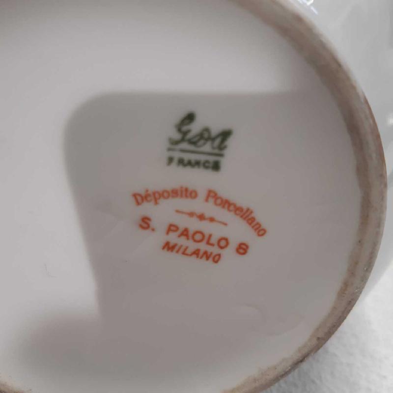 SALSIERA PORC ORO FIORI | Mercatino dell'Usato Treviso 3