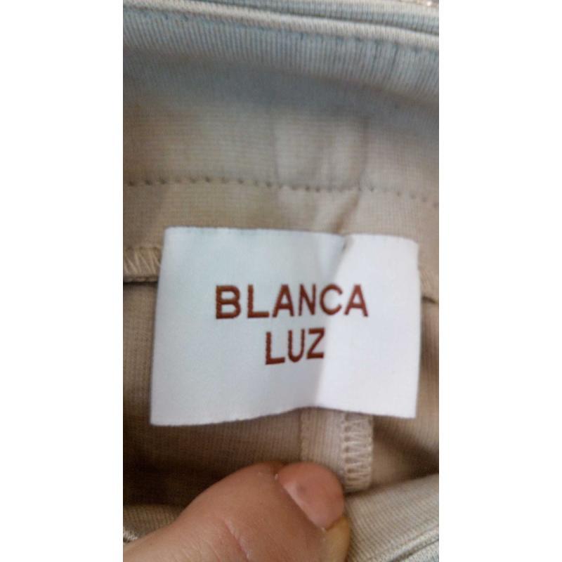 PANTALONE DONNA BIGE BLANCA TG 38 | Mercatino dell'Usato Volpago del montello 3