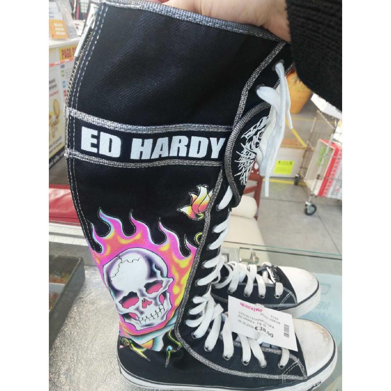 STIVALI DONNA STOFA  ED HARDY  | Mercatino dell'Usato Volpago del montello 1