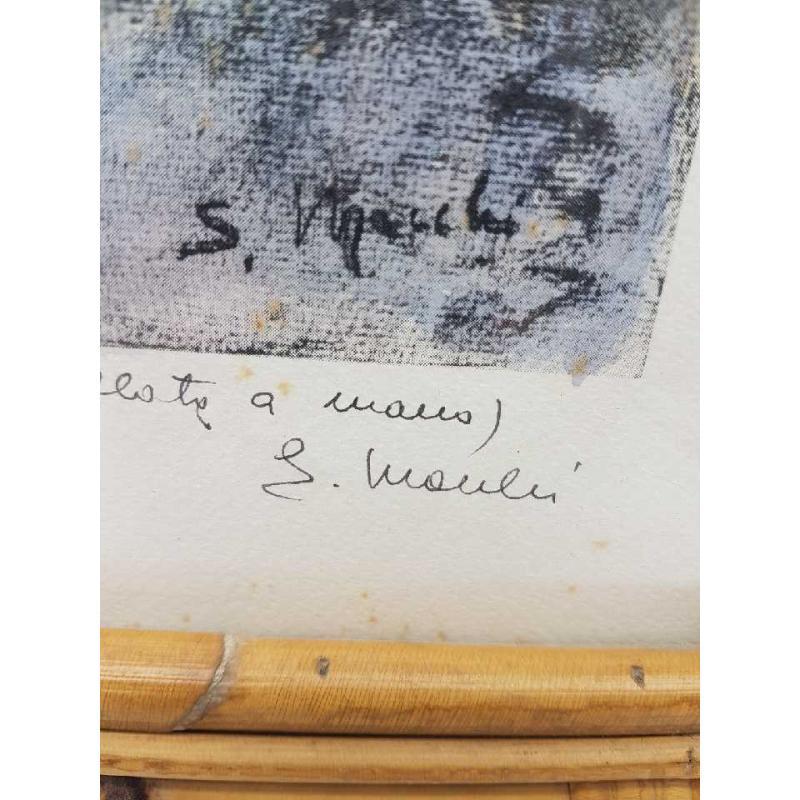 QUADRO S. MACCHI VENEZIA 6/50 CORNICE IN MIDOLLINO | Mercatino dell'Usato Gallarate 3