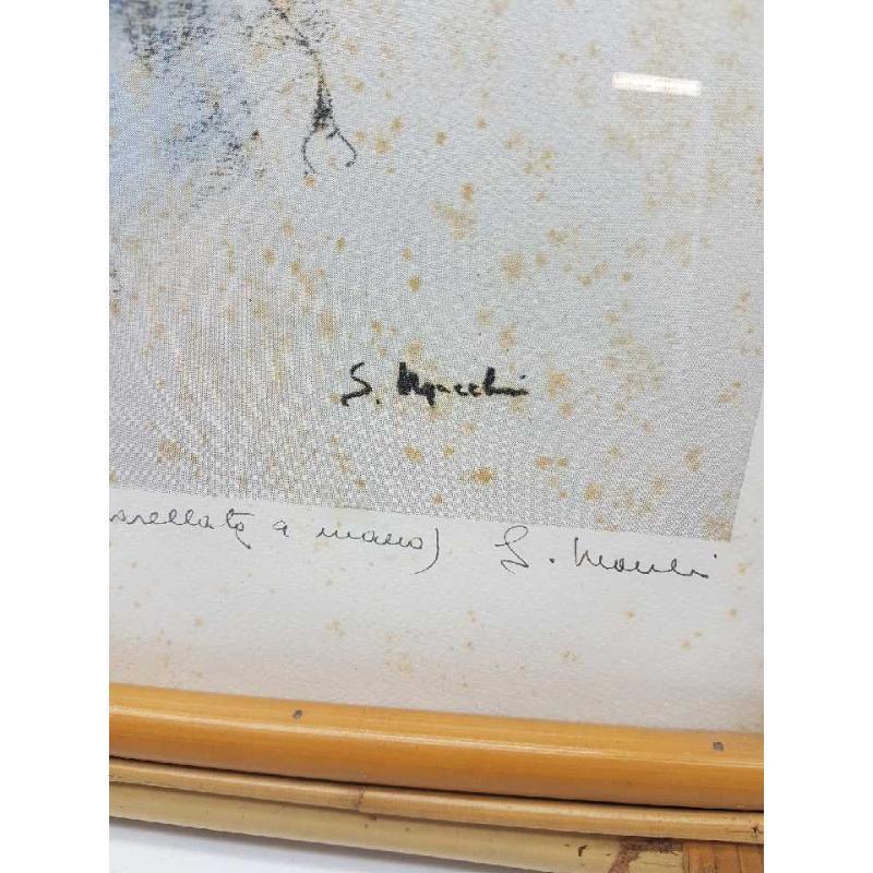 QUADRO S. MACCHI FIORI 3/50 CORNICE IN MIDOLLINO | Mercatino dell'Usato Gallarate 2